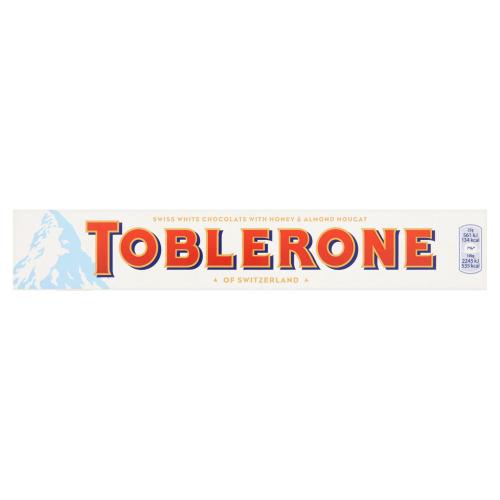 Toblerone wit (reep, 100g)