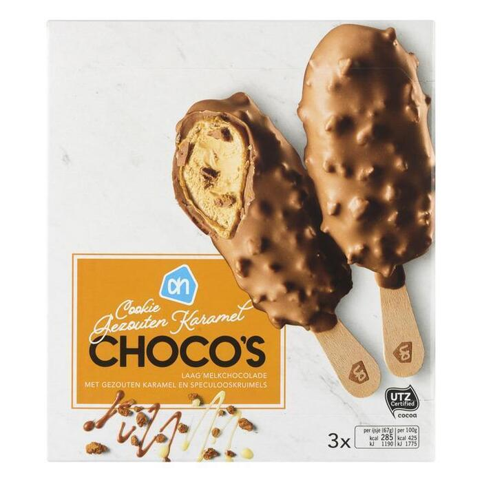 AH Choco cookie gezouten karamel