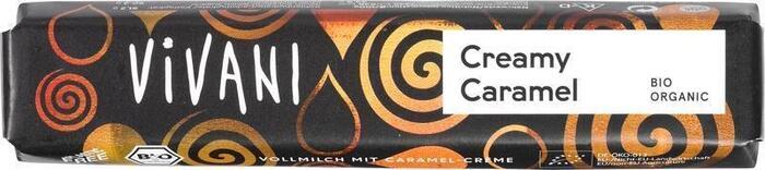 Chocolade melk creamy caramel (40g)