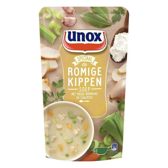Unox Soep in Zak Romige Kippensoep 570ml (0.57L)
