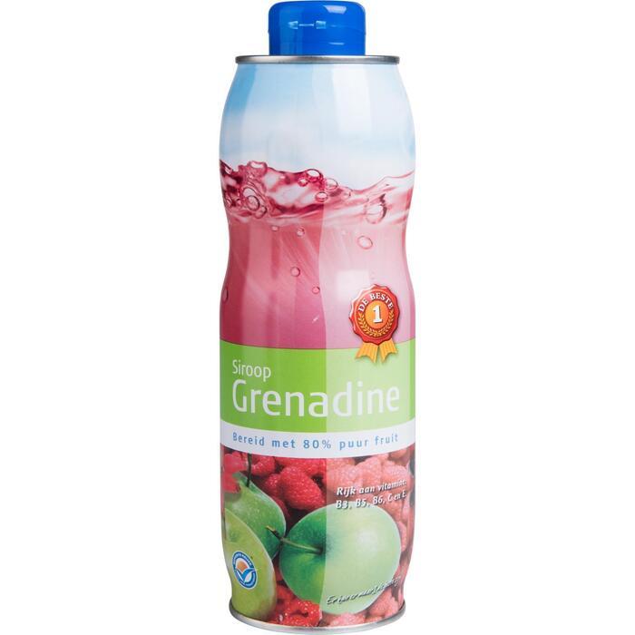 Limonadesiroop grenadine (0.75L)