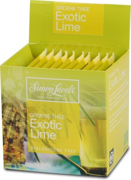 Exotic Lime (groene thee) (builtje, 10 × 1.75g)