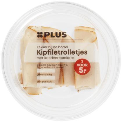 Kipfiletrolletjes kruiden roomkaas (80g)