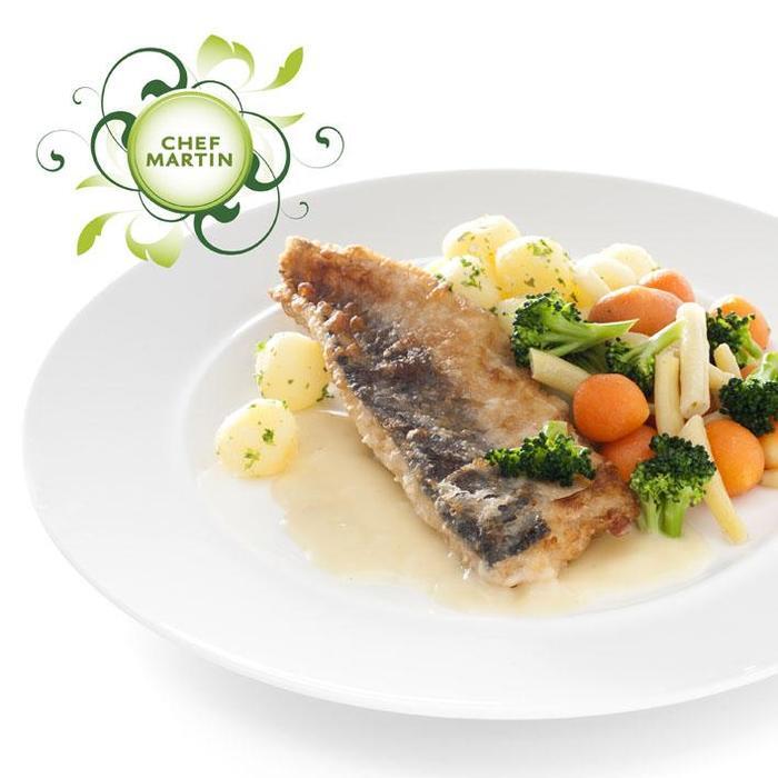 Chef Martin Visfilet gemengde groenten kriel peterse (525g)