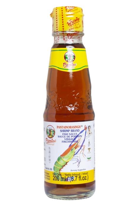 Pantainorasingh garnalensaus fles 200 ml (200ml)