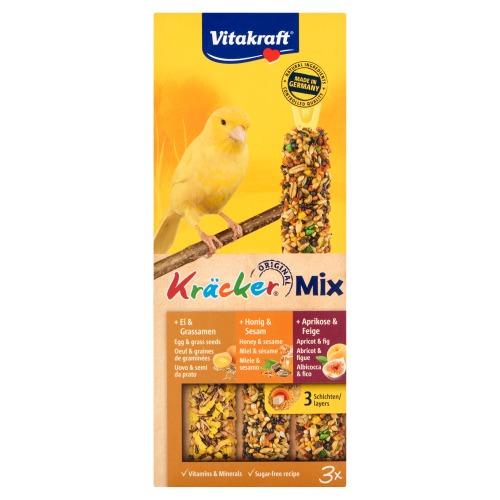 Vitakraft 3 x Kräcker voor Kanaries 80g (3 × 80g)