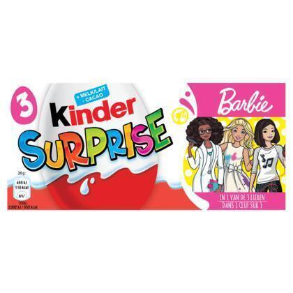 Kinder surprise ei superhero girls (Stuk, 60g)