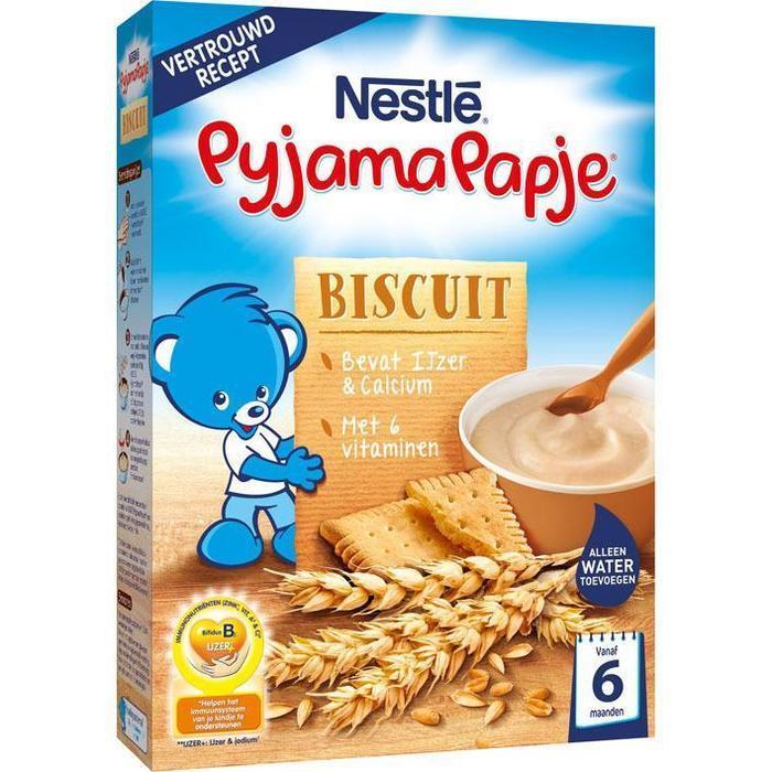 PyjamaPapje Biscuit 6 mnd (Stuk, 250g)