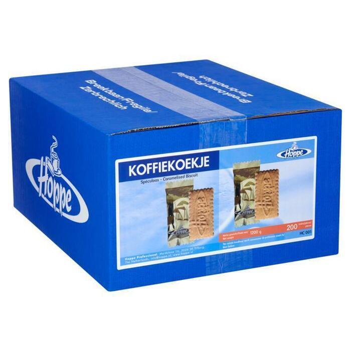 Hoppe Koffiekoekje 200 Stuks 1200g (200 × 1.2kg)