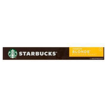 Starbucks® Blonde® Espresso Roast by Nespresso® Blonde® Roast 10 Capsules (53g)