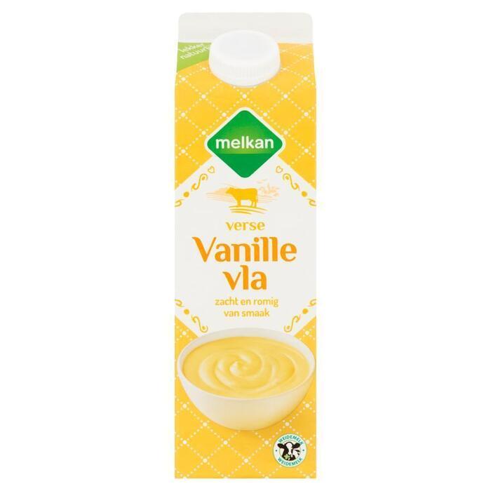 Melkan Vanille vla (1L)