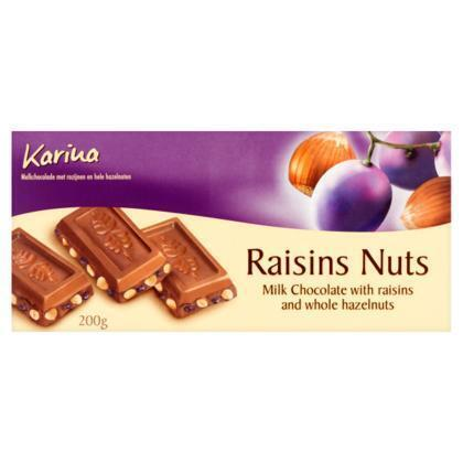 Raisins Nuts (tablt, 200g)