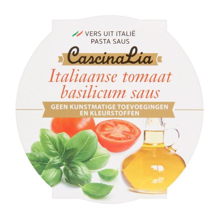 Pastasaus tomaat basilicum (180g)