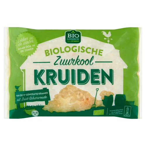 Biologische Zuurkool Kruiden (zak, 520g)