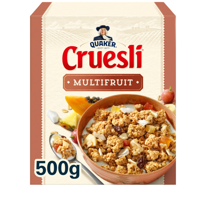 Cruesli multifruit (Stuk, 500g)