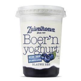 Zuivelhoeve Boer'n yoghurt blauwe bes (450g)