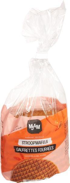 Karamel zeezout stroopwafel (175g)