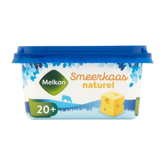 Melkan Smeerkaas 20+ naturel (100g)