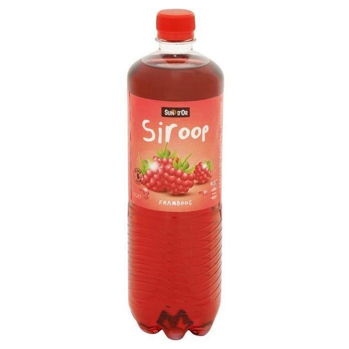 Sun d'Or Siroop Framboos 1 Liter (1L)