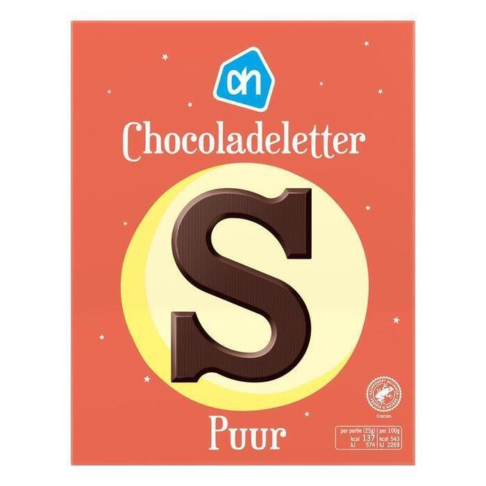 AH Chocoladeletter puur (135g)