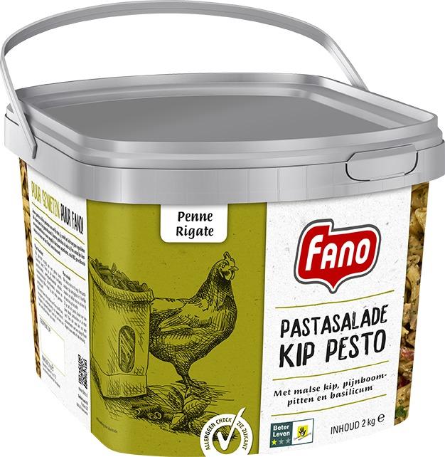 FANO PASTASALADE KIP PESTO (2kg)