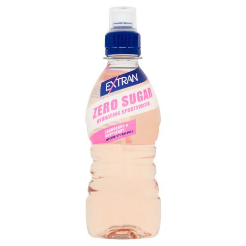 Extran Zero Sugar Cranberry-Raspberry 0,33 L (33cl)