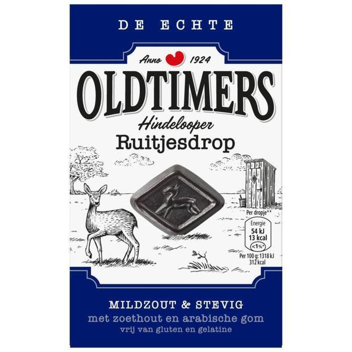 Old Timers Hindelooper Ruitjes (Stuk, 235g)