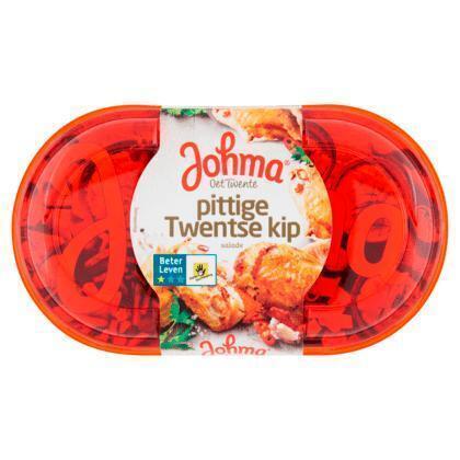 Pittige Twente kip salade (175g)