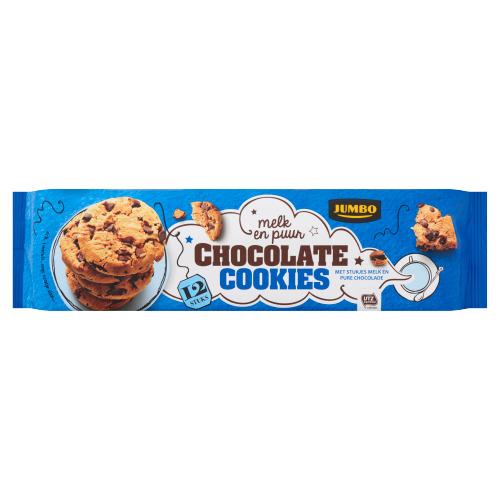 Jumbo Chocolate Chip Cookies 12 Stuks 225 g (225g)