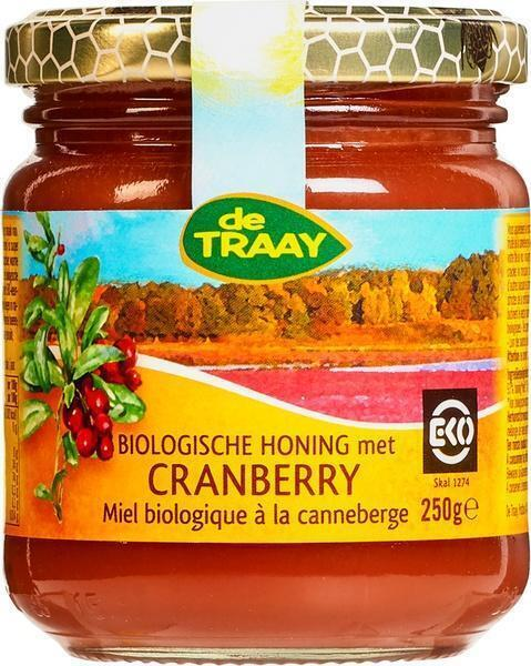 Honing met cranberry (250g)