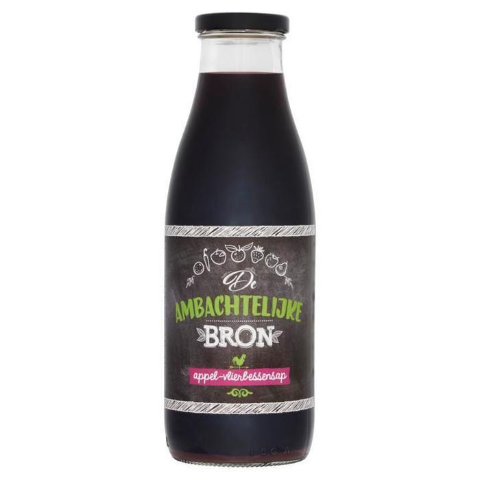 appel-vlierbessensap (fles, 0.75L)