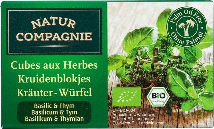 Kruidenbouillonblokjes basilicum-tijm (80g)