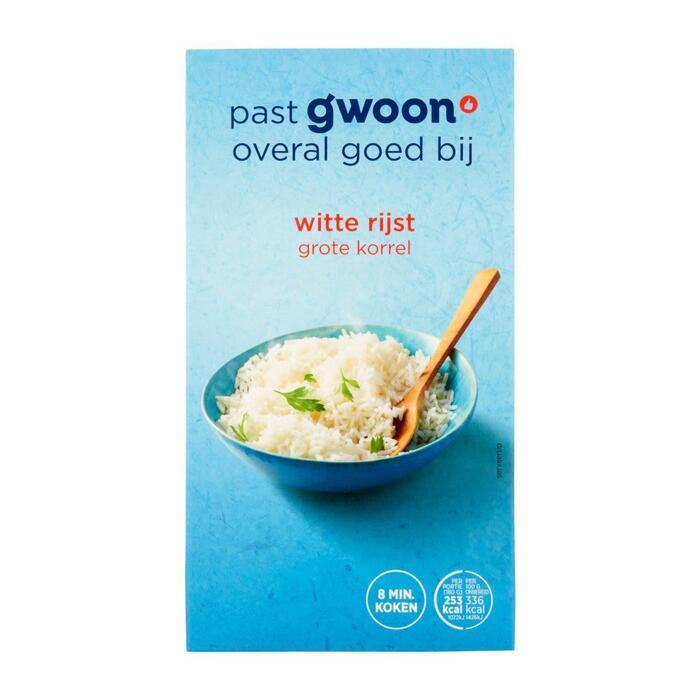 g'woon Witte snelkookrijst (400g)