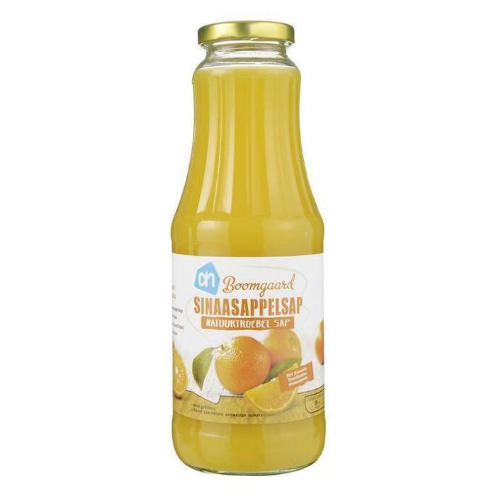 Boomgaard Sinaasappelsap (glas, 1L)