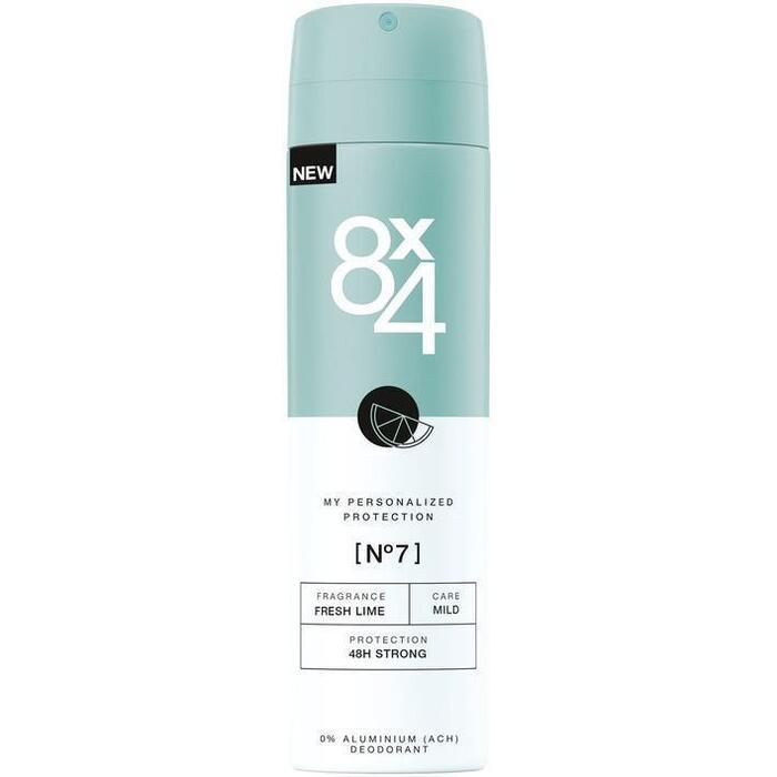 8x4 No.7 Deodorant Spray 150 ml (150ml)