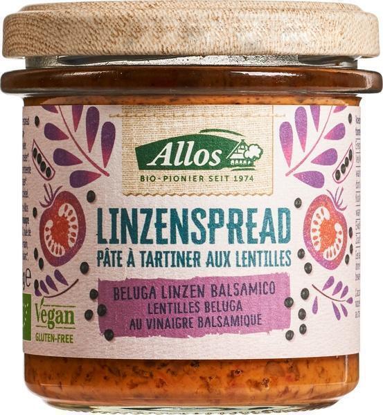 Linzenspread balsamico (140g)