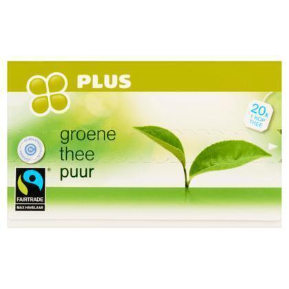 Groene thee puur 1-kops (40g)