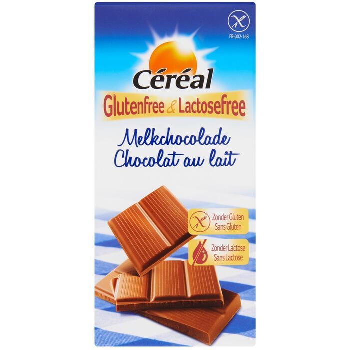 Céréal Glutenfree & Lactosefree Melkchocolade 100g (Stuk, 100g)