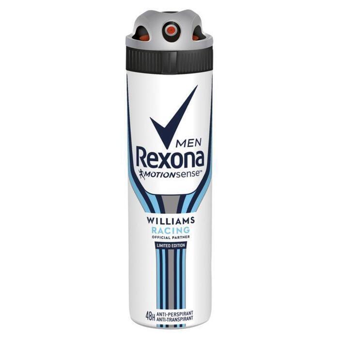 Rexona Men Anti-Transpirant Spray Williams Racing 150 ml (150ml)