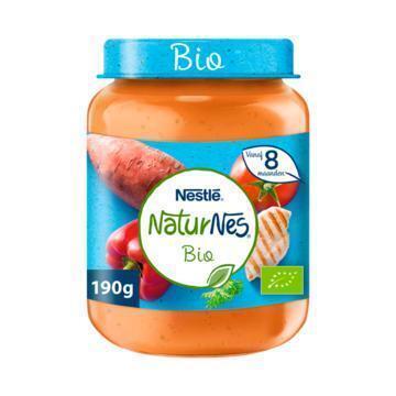 NaturNes Zoete aardappel kip 8+ mnd babyvoeding (190g)