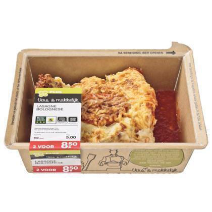 Lasagne bolognese (450g)