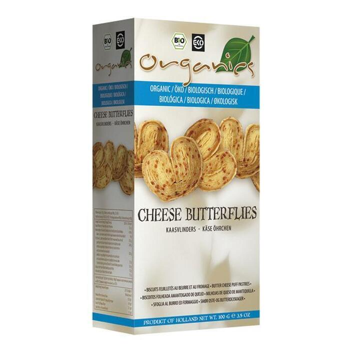 Organics Cheese butterflies (100g)