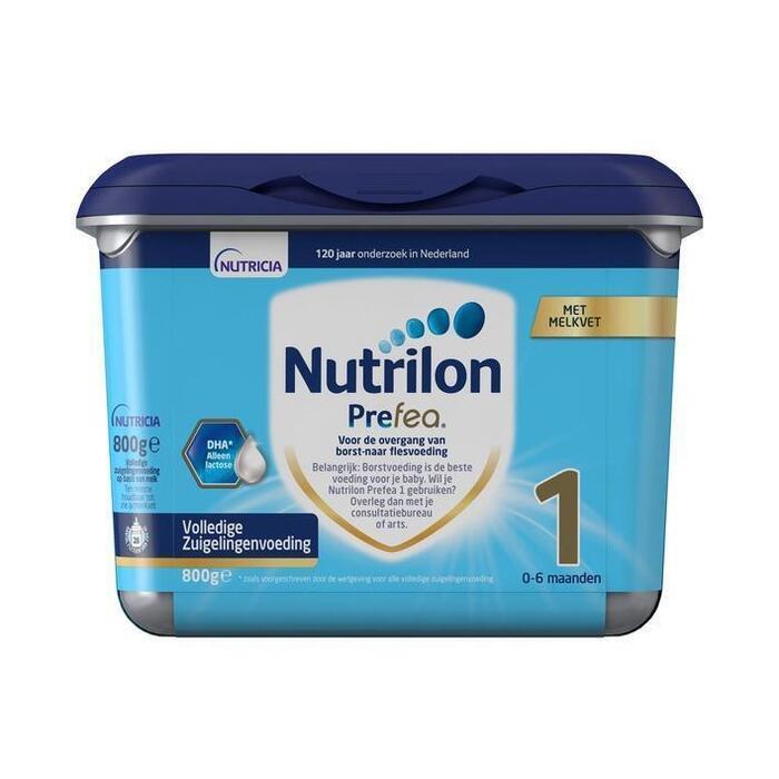 Nutrilon Prefea Volledige Zuigelingenvoeding 1 (800g)