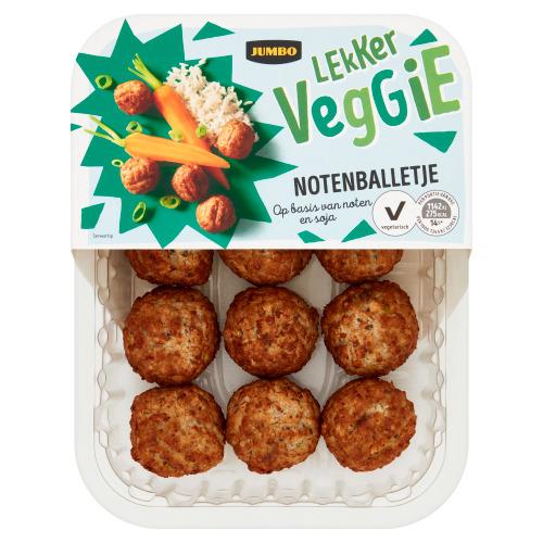 Jumbo Lekker Veggie Notenballetje 170 g (170g)