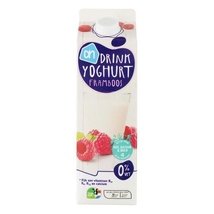 AH Drinkyoghurt framboos (1L)
