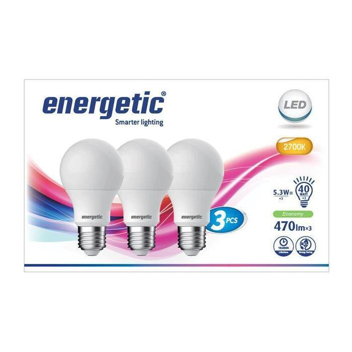 Energetic Led standaard 40w (3 st.)