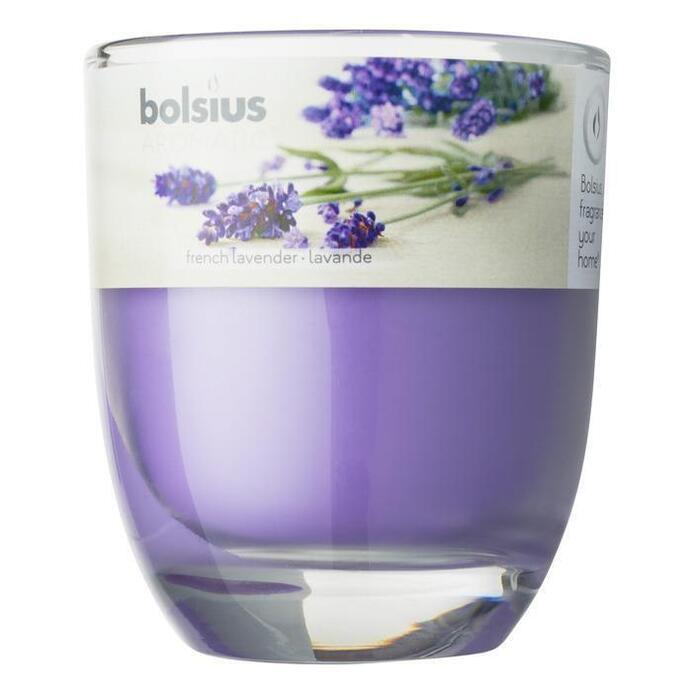 Bolsius Geurglas lavendel