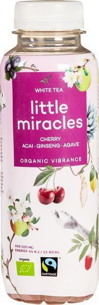 Little Miracles White Tea & Ginseng (petfles, 33cl)