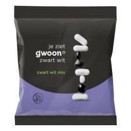 g'woon zwart wit mix (250g)