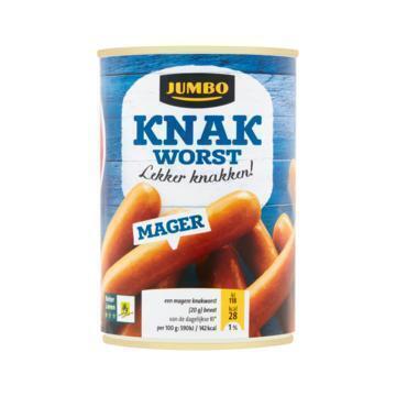 Knakworst Mager (blik, 400g)